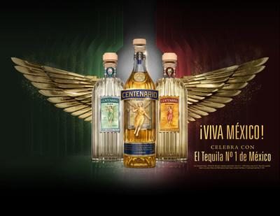Celebre el Día de la Independencia de México con Gran Centenario, el tequila #1 de México (PRNewsfoto/Gran Centenario Tequila)