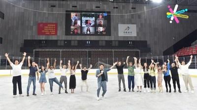 CGTN: 24aspirantes a la campaña CGTN Media Challengers enfrentan la competencia final (PRNewsfoto/CGTN)